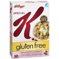 3 PACK OF Kellogg's Special K Almond & Cranberry Gluten Free Breakfast Cereal 300g
