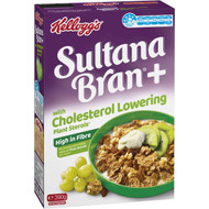 3 PACK OF Kellogg's Sultana Bran With Cholesterol Lowering Plant Sterols 390g