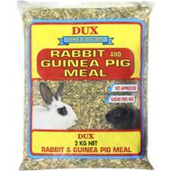 3 PACK OF Dux Guinea Pig & Rabbit Meal 2kg
