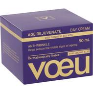 3 PACK OF Voeu Age Regenerate Anti-ageing Day Moisturiser 50ml