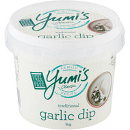 3 PACK OF Yumi's Traditional Garlic Dip  1kg