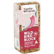3 PACK OF Frankie & Friends Wild Bird Block 1.4kg