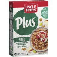 3 PACK OF Uncle Tobys Cereal Plus Fibre 775g