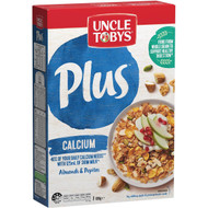 3 PACK OF Uncle Tobys Cereal Plus Calcium 690g