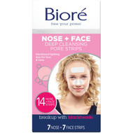 3 PACK OF Biore Combo Deep Cleansing Pore Strips 14 pack