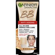 3 PACK OF Garnier Bb Cream Anti-ageing Medium Anti Age Medium 50ml