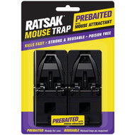 3 PACK OF Ratsak Pre-baited Mouse Trap 2 pack