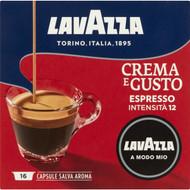 3 PACK OF Lavazza A Modo Mio Crema E Gusto Espresso Coffee Capsules 16 pack