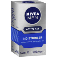 3 PACK OF Nivea Men Anti Age Face Moisturiser Cream+folic Acid & Creatine 50ml