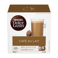 3 PACK OF Nescafe Dolce Gusto Coffee Capsules Cafe Au Lait 16 pack