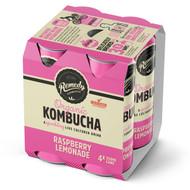 3 PACK OF Remedy Raspberry Lemonade Kombucha 4 pack