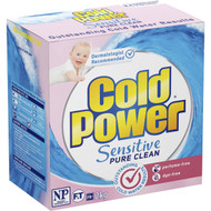 3 PACK OF Cold Power Sensitive Pure Clean Laundry Powder 2kg