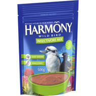 3 PACK OF Harmony Bird Food Insectivore Mix  500g