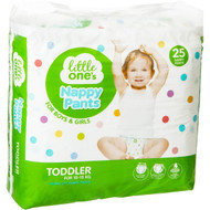 3 PACK OF Little One's Convenience Pants Toddler 10-15kg 25 pack