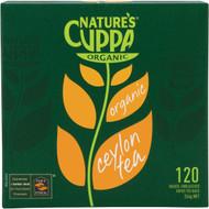 3 PACK OF Nature's Cuppa Organic Premium Tea Bags 120 pack