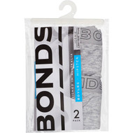 3 PACK OF Bonds Womens Underwear Hipster Boyleg Size 16 2 pack