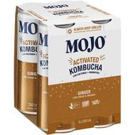 3 PACK OF Mojo Actived Kombucha Ginger 250ml x4 pack