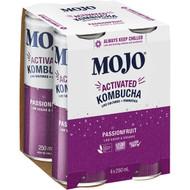 3 PACK OF Mojo Actived Kombucha Passionfruit 250ml x4 pack