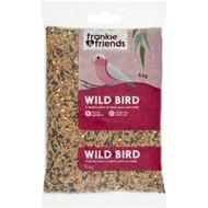 3 PACK OF Frankie & Friends Wild Bird Seed Blend 5kg