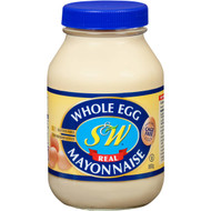3 PACK OF S&w Mayonnaise Whole Egg 880g