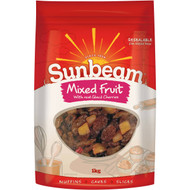 3 PACK OF Sunbeam Mixed Fruit  1kg