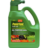 3 PACK OF Seasol Powerfeed All Purpose Plant Fertiliser Hose On 1.2l