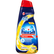 3 PACK OF Finish Max In 1 Dishwashing Gel 650ml