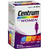 3 PACK OF Centrum For Women Multivitamin 60pk