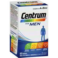 3 PACK OF Centrum For Men Multivitamin 60pk