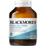 3 PACK OF Blackmores Fish Oil 1000 Capsules 100 pack