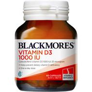 3 PACK OF Blackmores Vitamin D3 1000iu 60pk