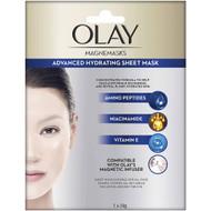 3 PACK OF Olay Magnemasks Hydrating Sheet Mask