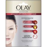 3 PACK OF Olay Magnemasks Anti Aging Sheet Mask