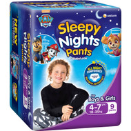 3 PACK OF Babylove Sleepy Nights Overnight Pants 18-35kg 9 pack