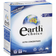 3 PACK OF Earth Choice Front Loader Laundry Powder 2kg