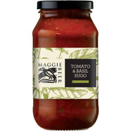 3 PACK OF Maggie Beer Pasta Sauce Sugo Tomato With Basil 500ml