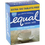 3 PACK OF Equal Sweetener Tablets 600 tablets