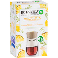 3 PACK OF Air Wick Botanica Fresh Pineapple & Rosemary Diffuser + Refill