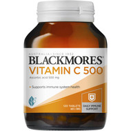 3 PACK OF Blackmores Vitamin C 500 Tablets 120 pack