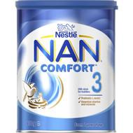 3 PACK OF Nestle Nan Comfort 3 Toddler 12+ Months Milk Formula Powder 800g
