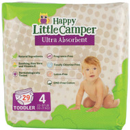 3 PACK OF Happy Little Camper Toddler Natural Nappies 29 pack