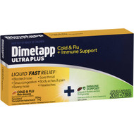3 PACK OF Dimetapp Cold & Flu Immune Support 27 pack