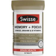 Swisse Ultiboost Memory Focus Tabs 50 pack