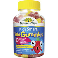 3 PACK OF Nature's Way Kids Smart Vita Gummies Omega-3 Dha Fish Oil 60 pack