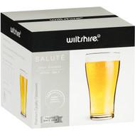 3 PACK OF Wiltshire Salute Beer Glasses 425ml 4 pack