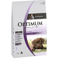 3 PACK OF Optimum Puppy With Chicken Dry Dog Food 3kg