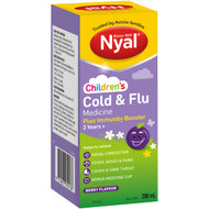 3 PACK OF Nyal Children's Berry Cold & Flu Immunity Booster 2yrs+ 200ml