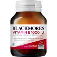 3 PACK OF Blackmores Vitamin E 1000iu Capsules 30 pack