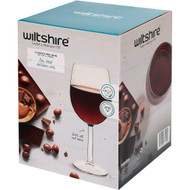 3 PACK OF Wiltshire Red Wine Glasses 395ml 4 pack