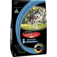 3 PACK OF Supercoat Senior Dog Food 3kg